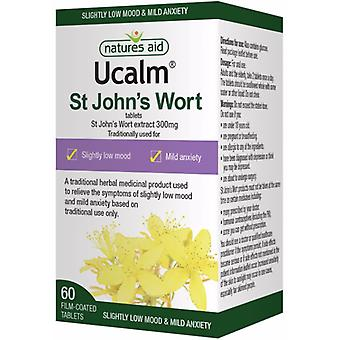 Natures Aid Ucalm 300mg, 60 tablets