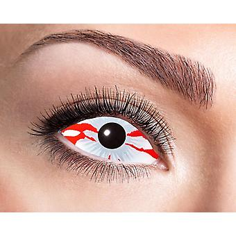 Sclera contact lenses blood stripe 22 mm