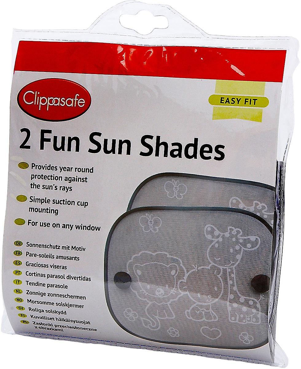 clippasafe fun sun screens two pack fruugo. Black Bedroom Furniture Sets. Home Design Ideas