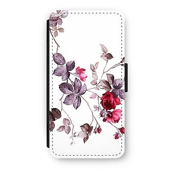 iPhone 8 Plus Flip Case - Pretty flowers