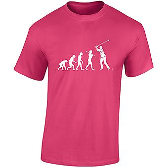 Golf van Evo Evolution Kids Unisex T-Shirt 8 kleuren (XS-XL) door swagwear