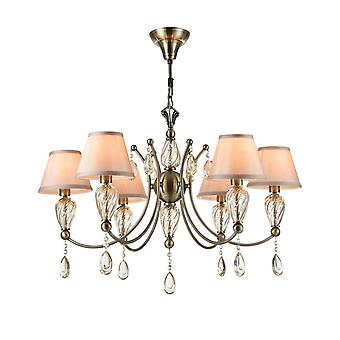 Maytoni Lighting Murano Royal Classic Collection Chandelier, Antique Bronze