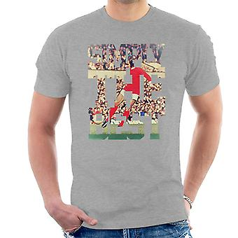 Simply The Best George Best 1973 Men's T-Shirt