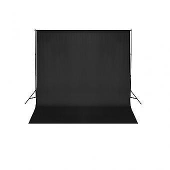 Kit complet studio photo + fond noir sans coutures 3x6 m photo vidéo studio professionnel 1802019