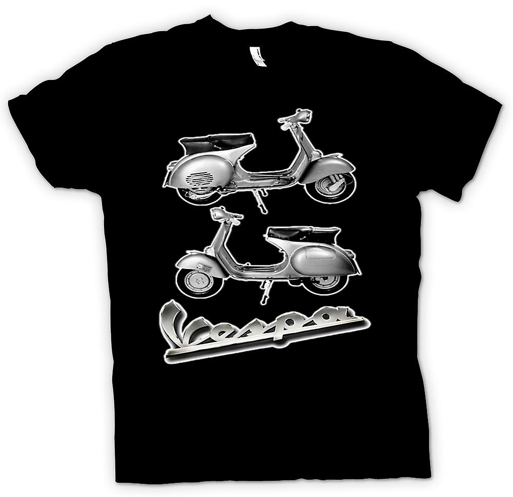 Mens T-shirt - Vespa 150GS Scooter - Mod
