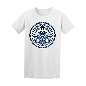 The God Of The Sea Art Tee Men's -Image by Shutterstock