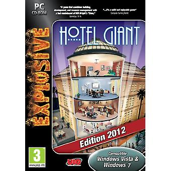Hotel Giant 2012 Gold Edition (PC CD) - Factory Sealed
