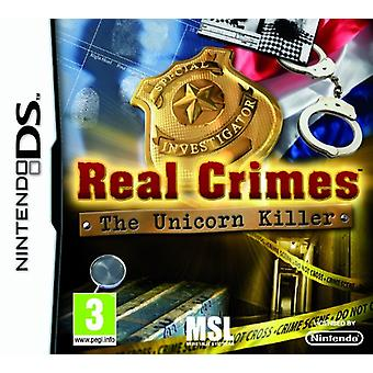 Real Crimes The Unicorn Killer (Nintendo DS) - Factory Sealed