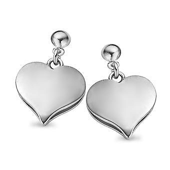 Orphelia plata 925 pendiente corazón ZO-5071