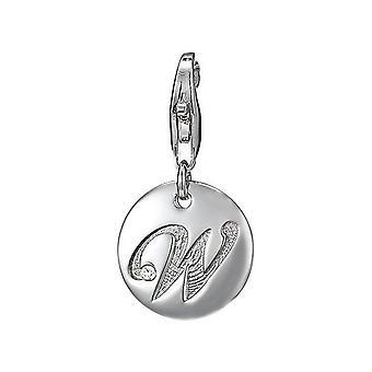 ESPRIT pendant of charms silver letter W ESZZ90841A000