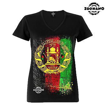 Zoonamo T-Shirt ladies classic for Afganistan