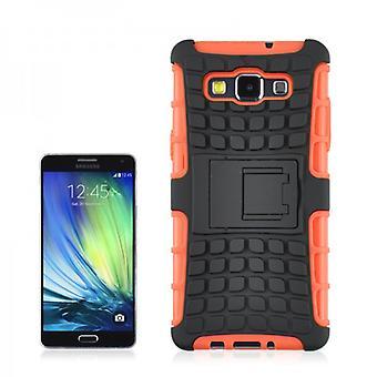 Hybrid Case 2teilig Robot Orange für Samsung Galaxy A3 A300 A300F
