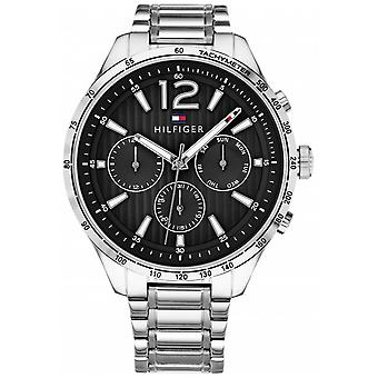 Tommy Hilfiger Mens Gavin Chronograph Stainless Steel Bracelet 1791469 Watch