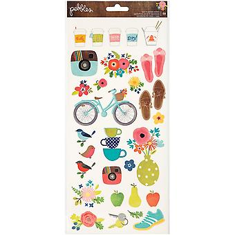 Happy Day Cardstock Stickers 6