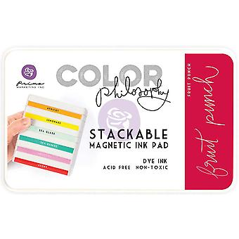 Prima Marketing Color Philosophy Dye Ink Pad-Fruit Punch