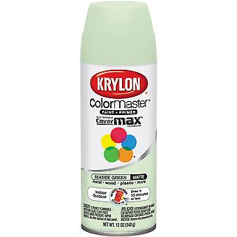 Colormaster Indoor/Outdoor Aerosol Paint 12oz-Seaside Green