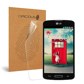 Celicious Impact Anti-Shock Shatterproof Screen Protector Film Compatible with LG F70 D315