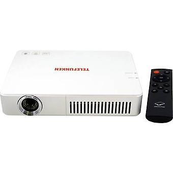 Telefunken projektor DLP700 WIFI LED ANSI lumen: 700 lm 1280 x 800 WXGA 1000: 1 hvit
