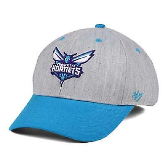 Charlotte Hornets NBA 47 Brand Contender Stretch Fitted Hat