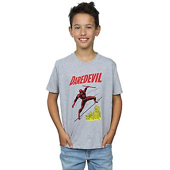 Marvel Universe Boys Daredevil Rooftop T-Shirt