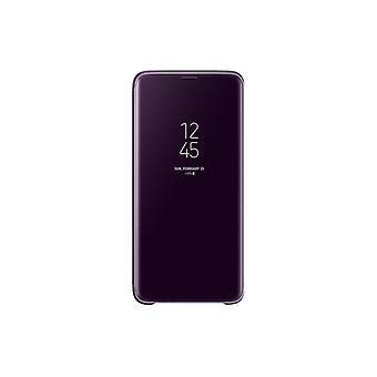 Samsung Galaxy S9 Clear View Standing Cover-Purple