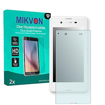 Sony Xperia E3 Screen Protector - Mikvon Clear (Retail Package con accessori)
