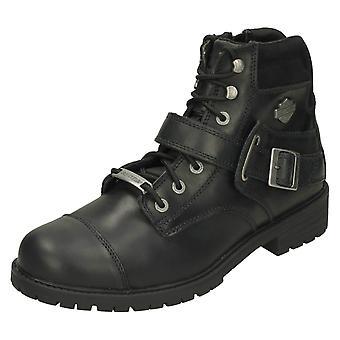 Mens Harley Davidson Biker Boots Bowers