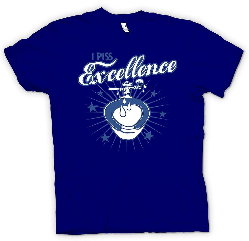 Mens T-Shirts - ich Piss Excellence - lustig