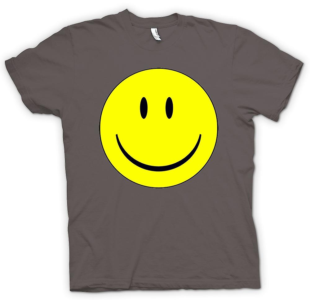 Womens T-shirt - miley Face - Acid House