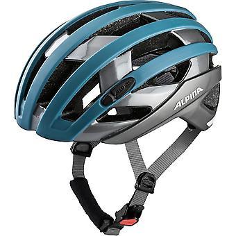 Alpina Campiglio bike helmet / / blue/titanium