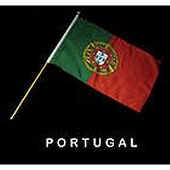 Portugal-Hand-Held-Flag