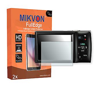 Canon Digital IXUS 160 screen protector - Mikvon FullEdge (screen protector with full protection and custom fit for the curved display)