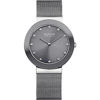 Bering 11435-389-wristwatch, plated stainless steel, color: grey