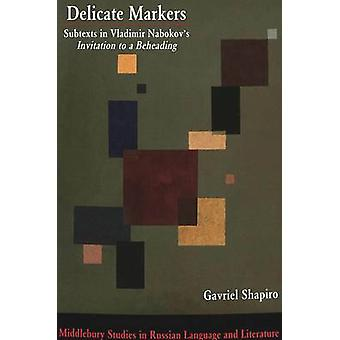 Delicate Markers by Gabriel Shapiro