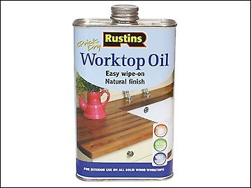 Rustins Worktop Oil 1 Litre