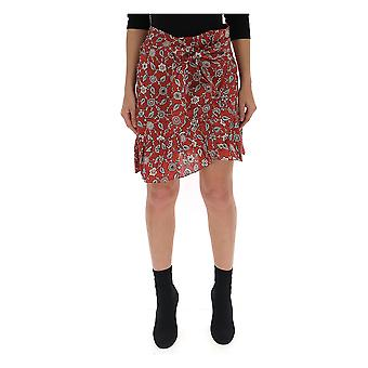 Isabel Marant Brown Linen Skirt