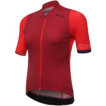 Santini Red 2019 Genio Womens Short Sleeved Cycling Jersey