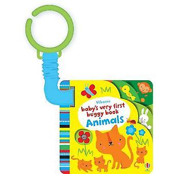 Baby's allereerste buggy boek dieren door Fiona watt-Stella Baggott-