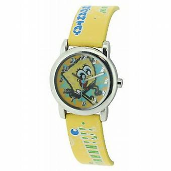 Bob l'éponge jaune Childrens Quartz Watch SB01
