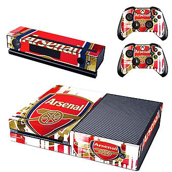 REYTID Arsenal Xbox One Console Skin / Sticker + 2 x Controller Decals & Kinect Wrap - Full Set - Microsoft XB1