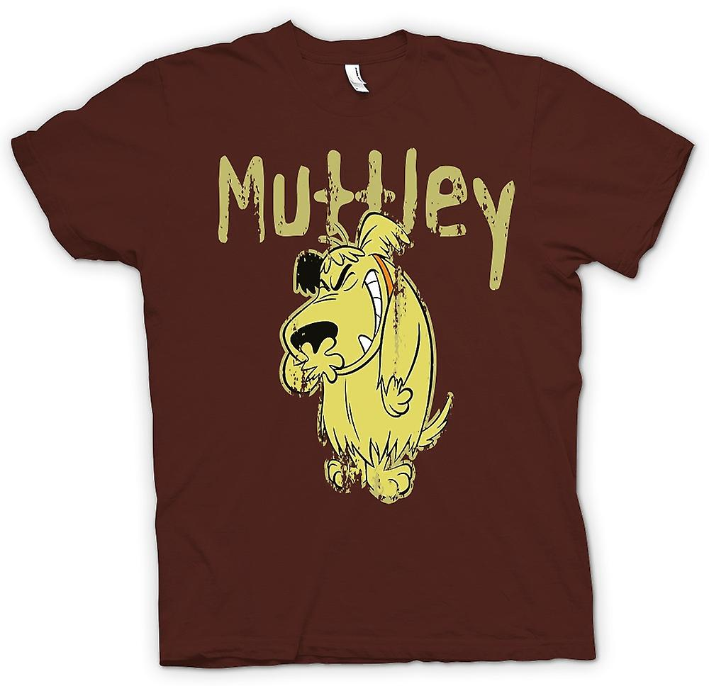 Heren T-shirt - Muttley - Bad Dog - Funny