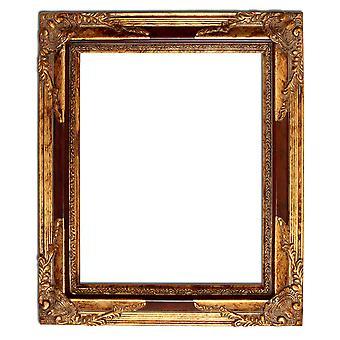 20x25 厘米或 8 x 10 英寸的黄金相框