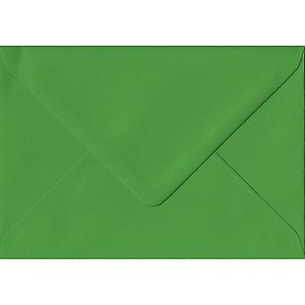 Fern Green Gummed Gift/Place Card Coloured Green Envelopes. 100gsm FSC Sustainable Paper. 70mm x 110mm. Banker Style Envelope.