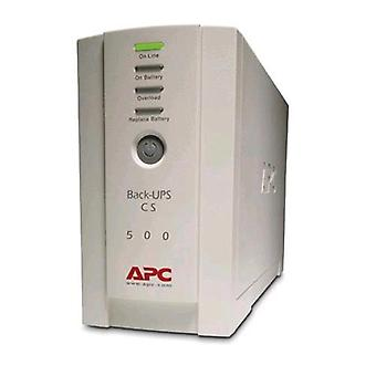 Apc back-ups cs 500 continuitа group (ups) 500 va 300 w