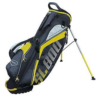 Masters SL800 SupaLite Golf Carry stand tas zwart/geel