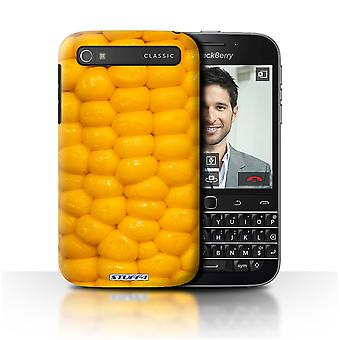STUFF4 Case/Cover for Blackberry Classic/Q20/Corncob/Food