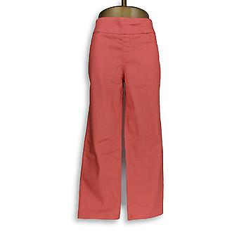 Mujeres's Petite Jeans Perfect Denim Smooth Waist Rosa A239620