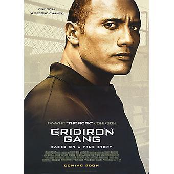 Gridiron Gang (Doppelseitige Advance Style B) Original Kino Poster