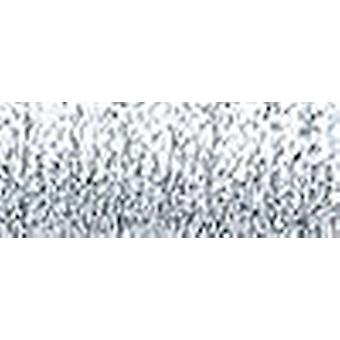Kreinik Medium metallische Braid #16, die 10 Meter 11 Yards Hallo Lustre Silber M 001 Hl