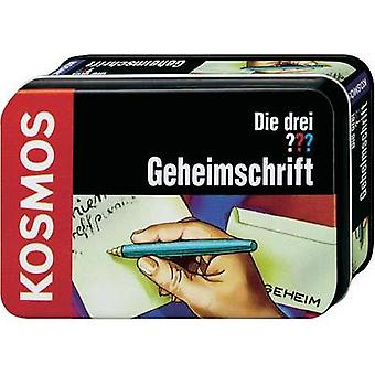 Science kit Kosmos Die drei ??? Geheimschrift 631024 8 years and over